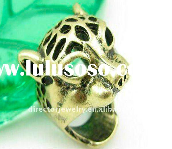 Fashion Costume Jewelry New Design Wholesale Tiger Ring