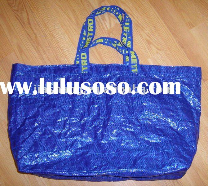 Fashion pp-woven showroom promotion/shopping tote bag