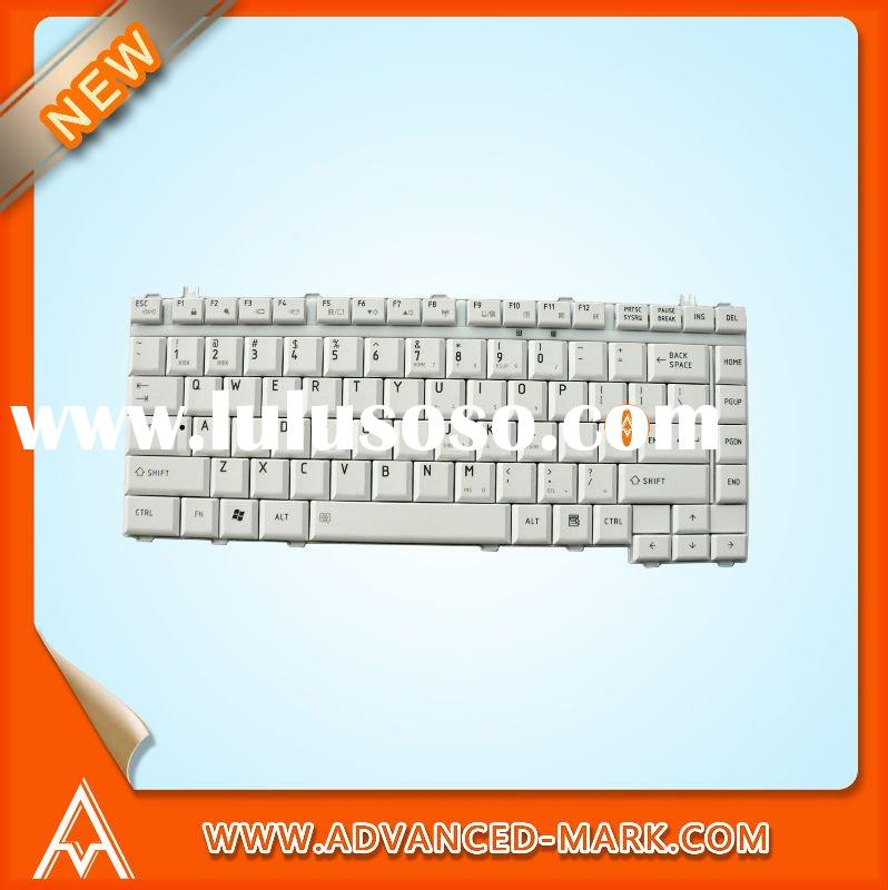 For TOSHIBA Satellite A200 Series Laptop / Notebook Keyboard KFRSBN124A Silver US Version,Brand New