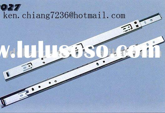 Foshan professional manufacturer sell high quality 27mm 2-fold #2027 telescopic ball bearing cabinet