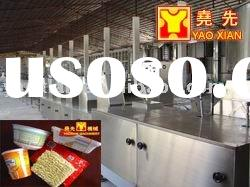 Fried Round Shape Bowl(cup) Package Instant Noodles Production Line