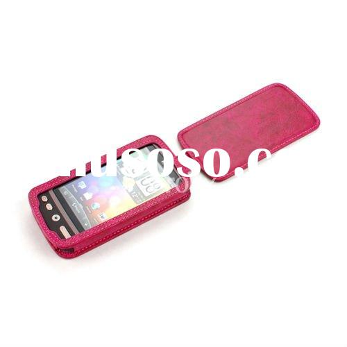 Genuine Leather Mobile Phone Accessory for iPhone