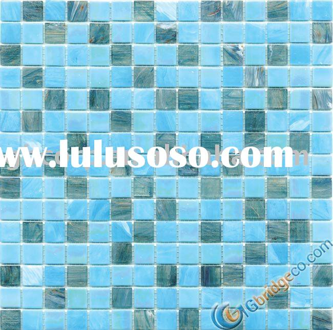 Glass mosaic wall and floor tile blend 20*20mm MSTA333