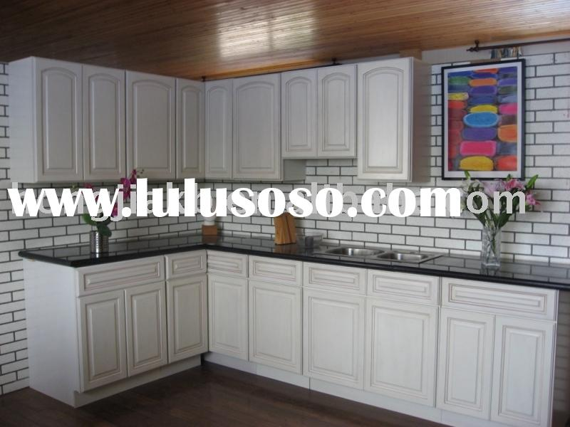 Antiquing White Kitchen Cabinets Antiquing White Kitchen