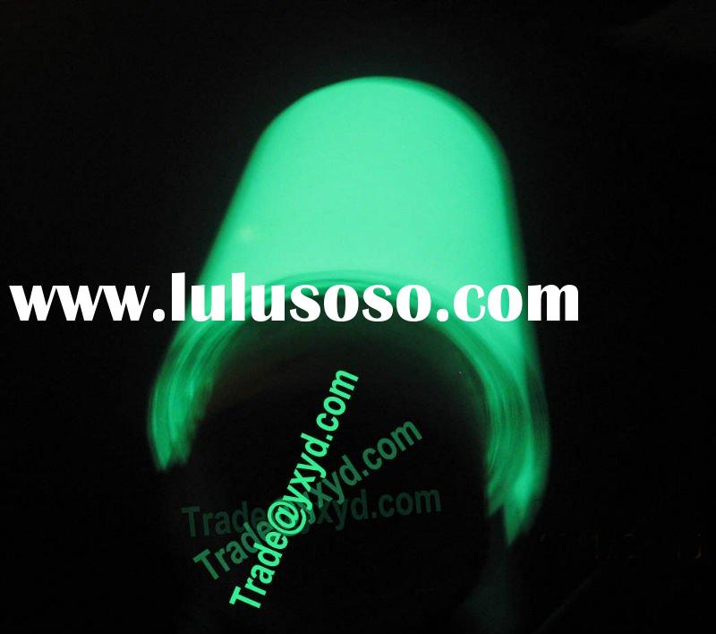Glow in the dark film,glow vinyl,glowing adhesive sticker tape