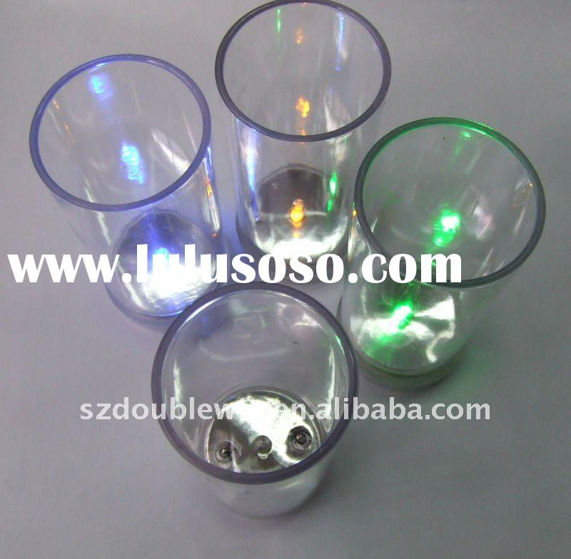 Glow party led flashing shot glass cup