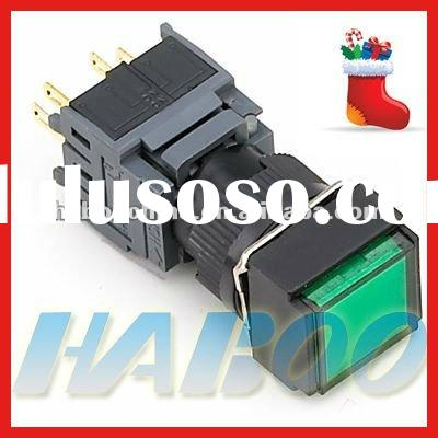 HBA16 series momentary push button switch 12v,waterproof on-off push button switch