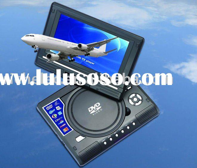 HOT!!! 7 inch Portable dvd player for Christmas gift