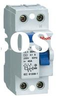 HVL7-125 2P Residual current circuit breaker 125A RCCB