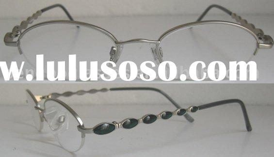 Half Frame Reading Glasses With Acrylic Lens