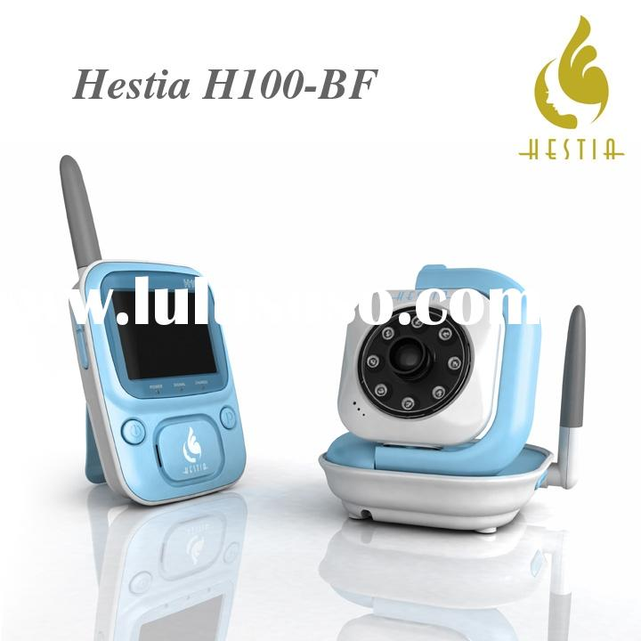 Hestia H100-BF wireless video baby monitor, Night Vision, Color Screen, Security Digital Transmissio