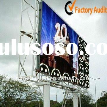 High Quality And Best View Angle P25 Outdoor Commercial Advertising LED Display Billboard