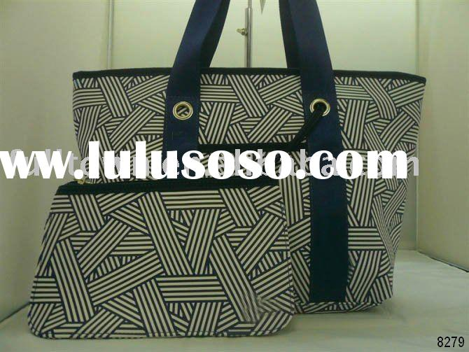High Quality Canvas tote bag, New fashion handbag with a coin purse