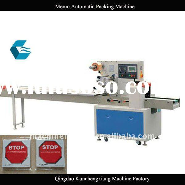 High Speed Scratch Pads Automatic Packing Machine