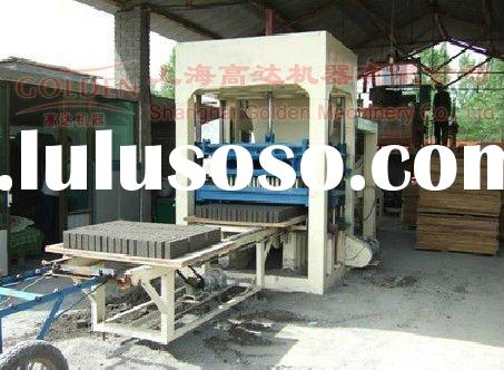 High efficient but not expensive ,automatic and semi-automatic hollow block making machine