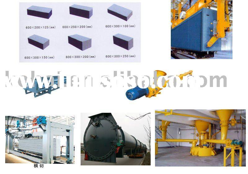 High-grade and light AAC block/brick making machine(kehai brand)