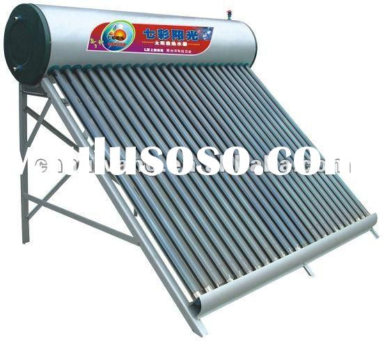 High quanlity compact non-pressurized solar water heater with vacuum solar water heater