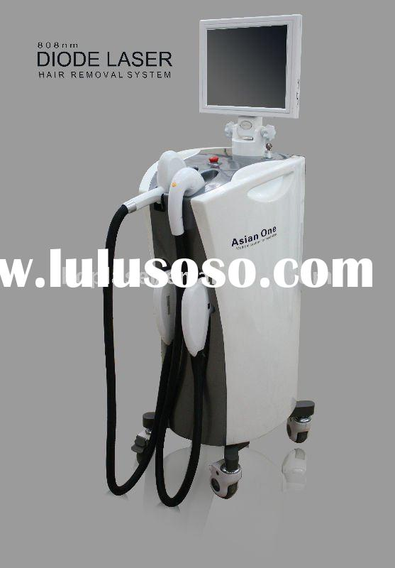 High-tech hair free 808nm Diode laser + RF/IPL+Ndyag laser machine