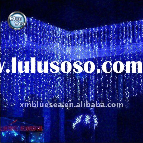 Holiday decorative ,Outdoor Christmas curtain lightings