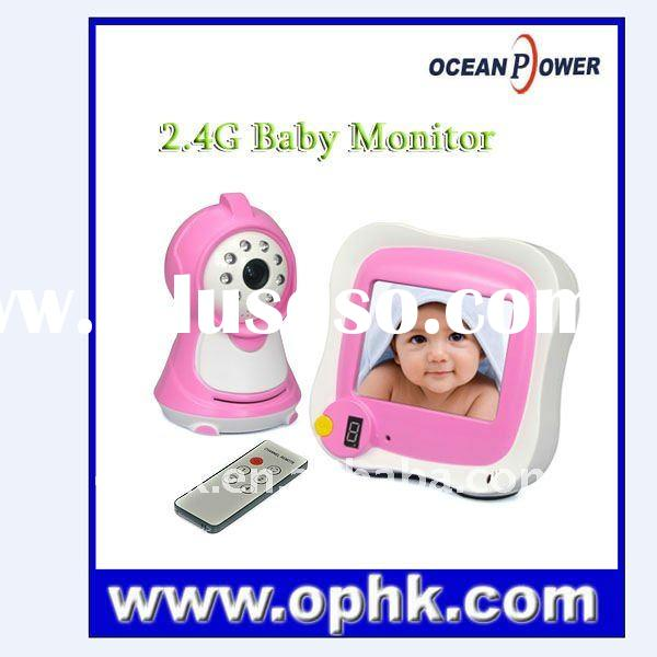 Hot!!! 3.5 Inch Wirless Baby Monitor With Night Vision