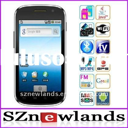 Hot A1000 Android 2.2 SmartPhone 4.3 inch Capacitive Touch Screen Dual SIM Wifi Tv Mobile Phone