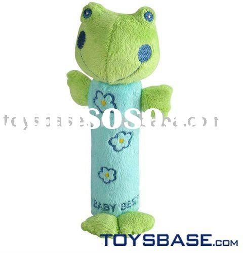 Hot! Plush baby toy bell