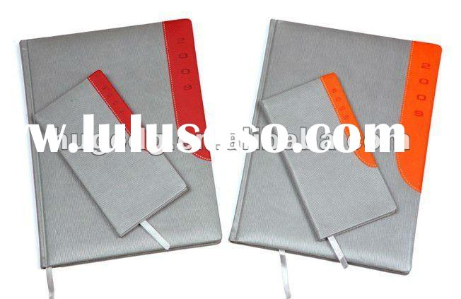 Hot sale pu leather Diary notebook