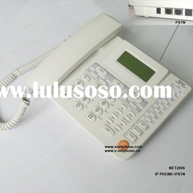 IP Phone with PSTN