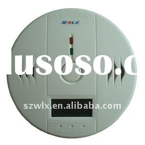 Independent CO Carbon Monoxide gas detector with LCD dispplay