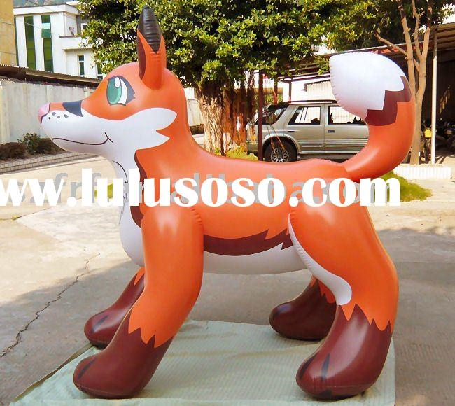 Inflatable fox,inflatable decoration fox,inflatable promotion fox