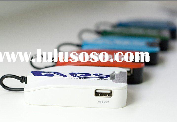 Innovative Emergency Portable Battery Charger for Mobile Phones with Micro USB
