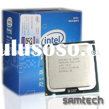 Intel pentium dual core CPU E5300 2.6GHz 2MB LGA775/high quality,lower price/in stock
