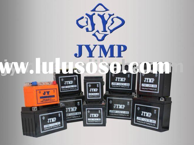 JYMP HIGH QUALITY Dry charge Motorcycle Battery(HONDA,YAMAHA,SUZUK