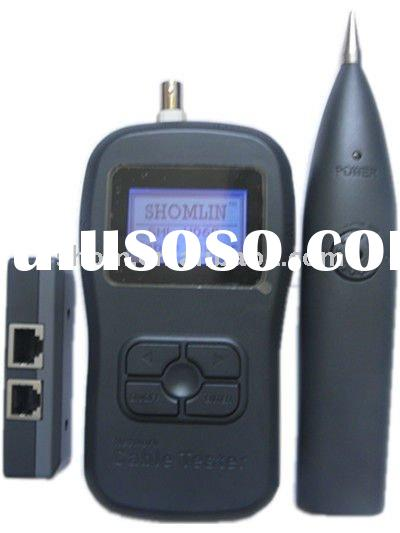 LCD RJ45 network cable tester