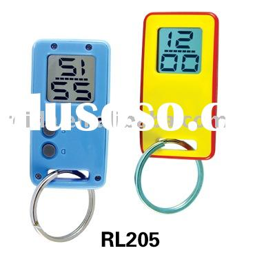 LCD table clock-RL205-clock,timepiece,weather station,thermometer,calendar,solar power,,radio contro