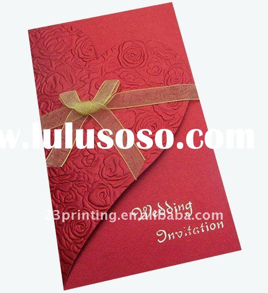 LIDI wedding invitation cards printing service