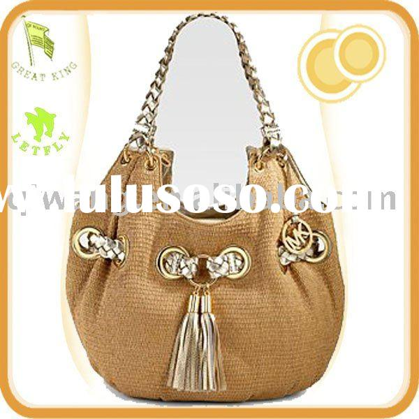 Lady fashion Handbag,Straw Shoulder Tote bag