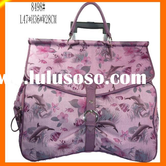 Lady's Fashion Rolling Computer Bag