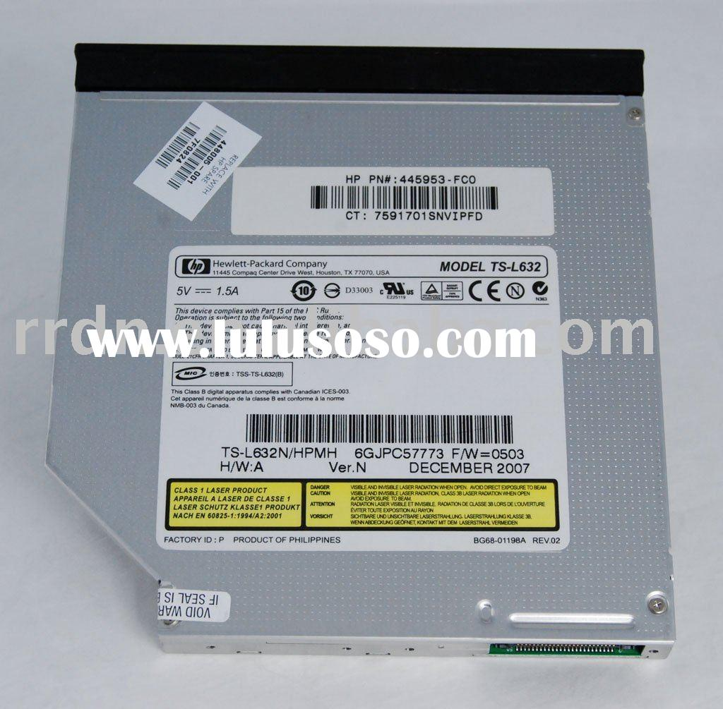 Laptop internal CD DVD-RW Optical Drive TS-L632N with LightScribe function DVD Drive