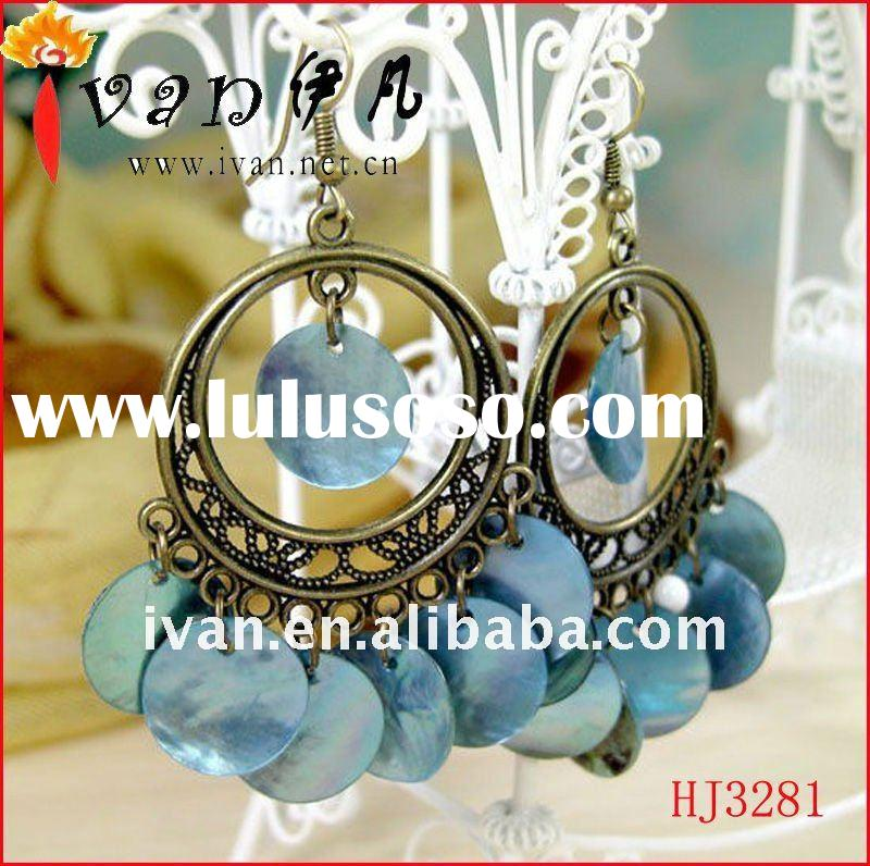 Latest Fashion Accessories Jewellery/Acrylic Hoop Earring