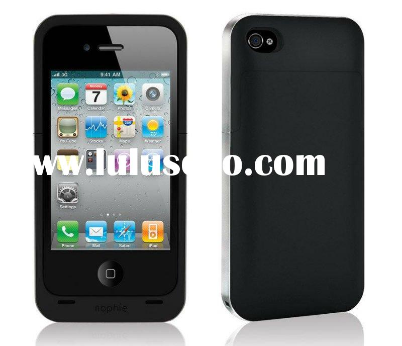 Latest!!! High Quality External Rechargeable 1500mAh Battery Compatible for i-Phone 4G/4S Juice Pack
