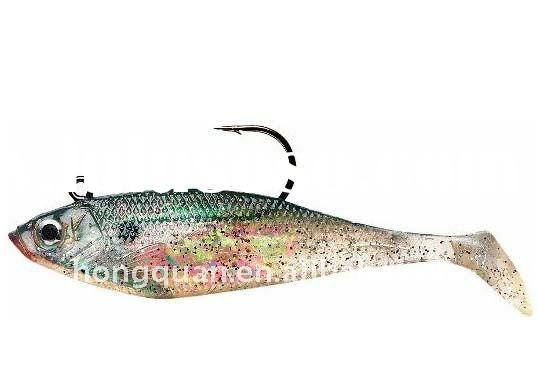 Lead Head Soft Body Swimbaits Storm Swim Baits Manufacturer