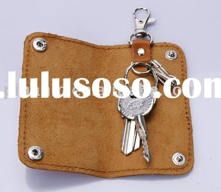Leather key holder promotional gift advertising products