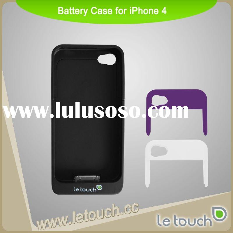 Letouch- For iPhone 4 Accessories-Battery Case