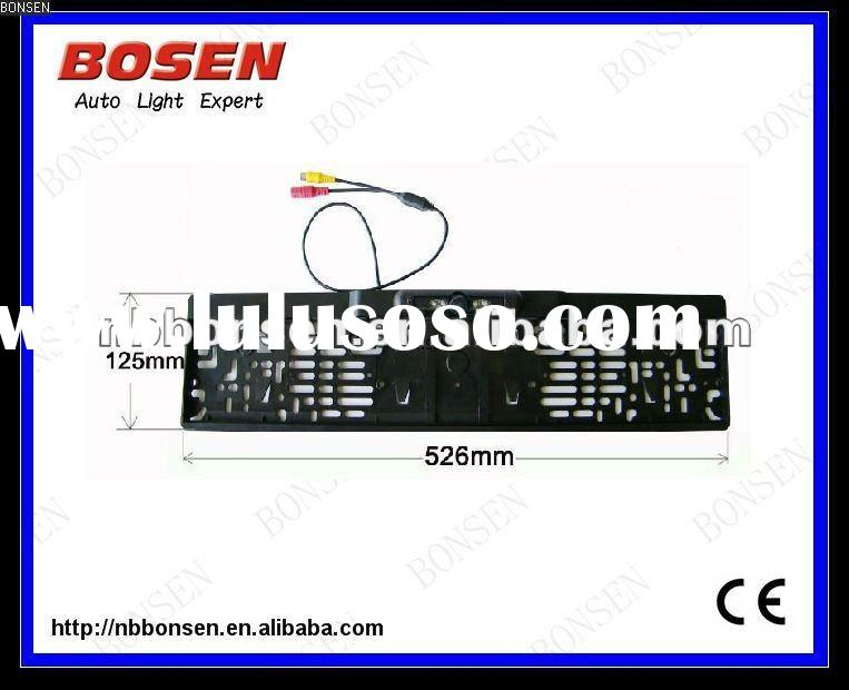 License Plate Frame Reverse Camera for EU size