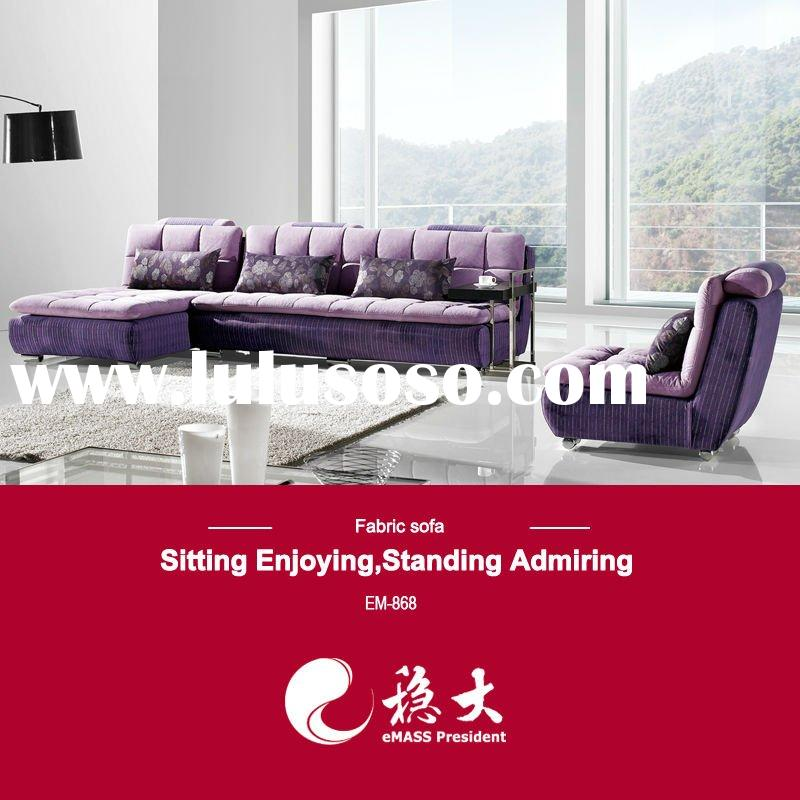 Love purple recliner mechanism home sofa EM-868