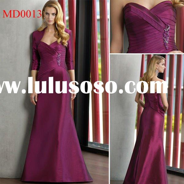 MD0013 New Arrival Long A-Line Wedding Mother Of The Bride Dresses