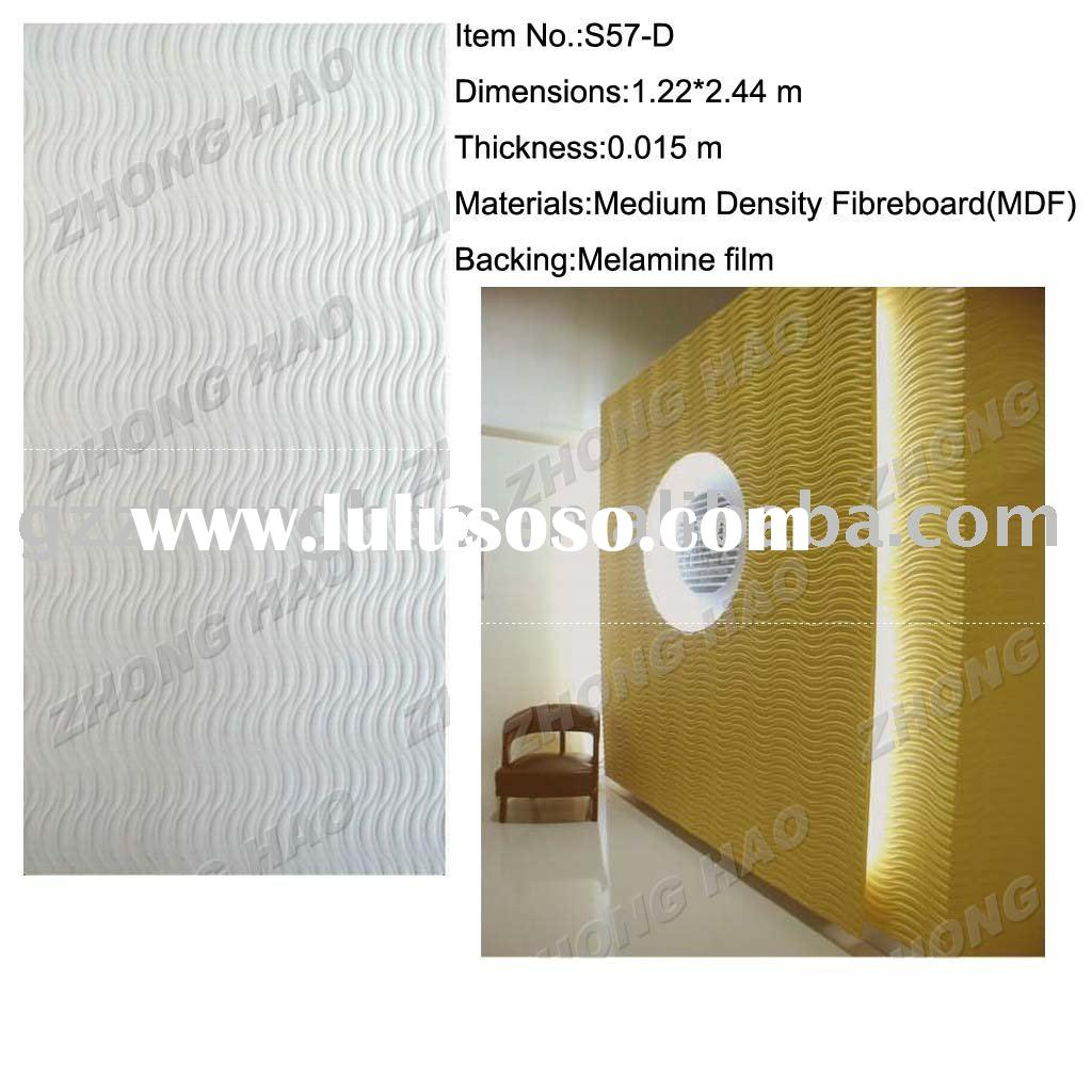 MDF INTERIOR DECORATION WAVE/WALL PANEL