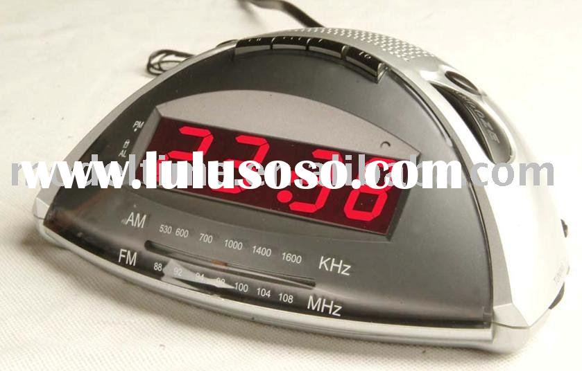 MP3 Player and LED Alarm Clock Radio wMP3/USB/SD Card function