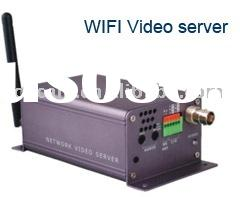 MPEG-4 WIFI Network IP Video Server